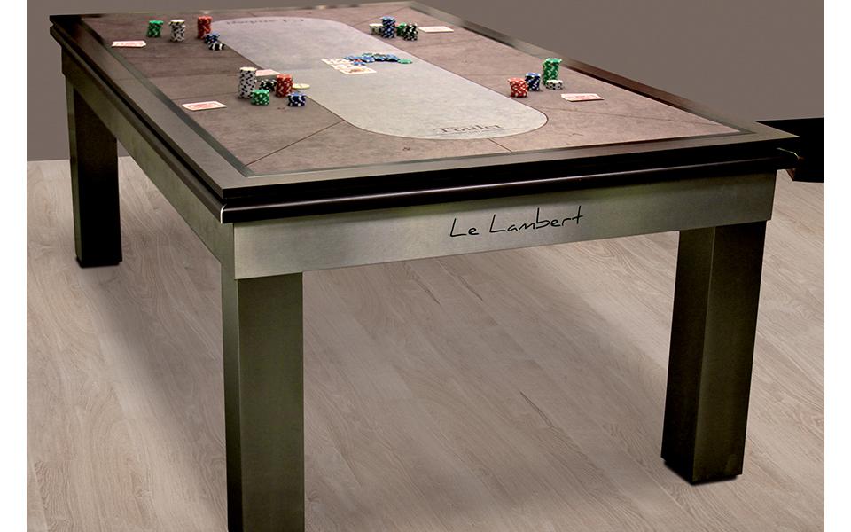 billard table de poker. Black Bedroom Furniture Sets. Home Design Ideas