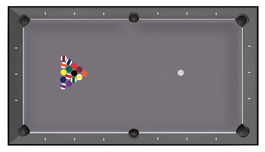 Billards Toulet - Mode de jeu Billard Américain