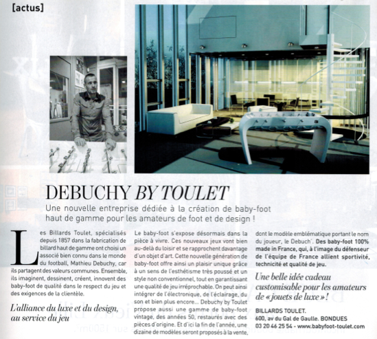 Articles-presse- billards toulet - Article-Marie-claire-Maison-Octobre-2014