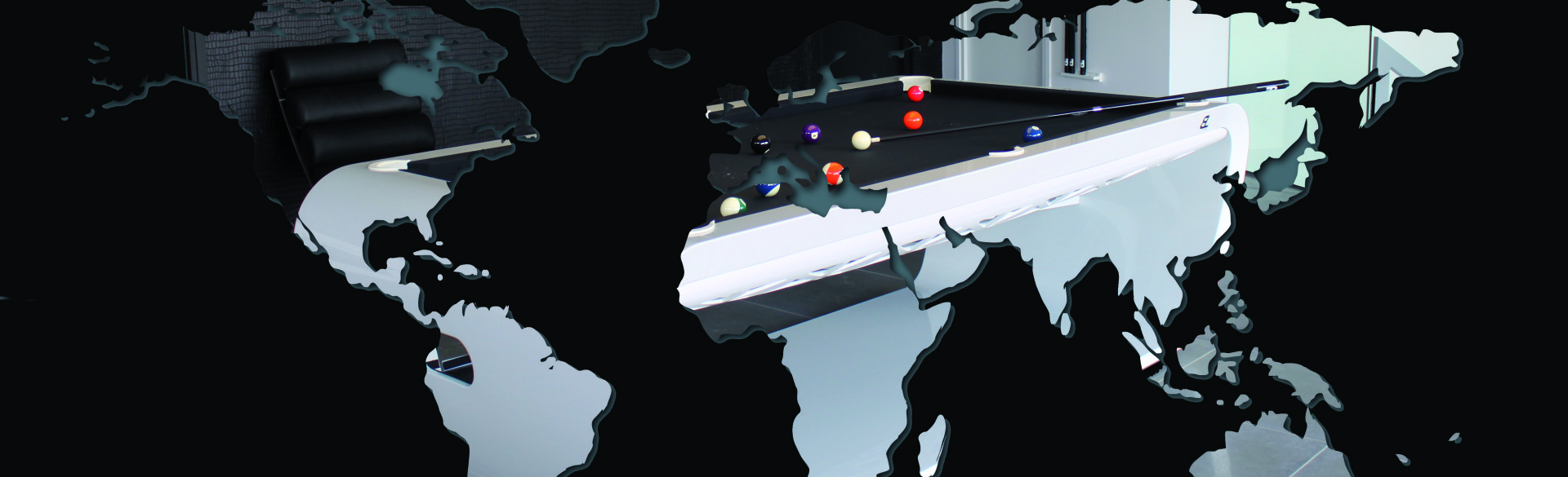 Billard BlackLight autour du monde