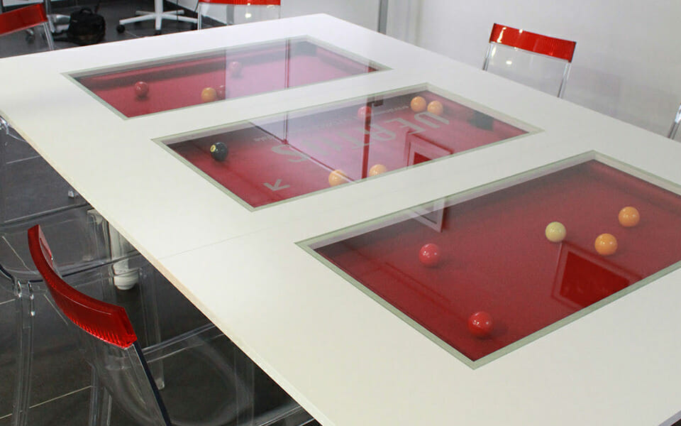Billard table