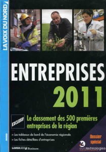 Billard Toulet-presse-La voix du nord entreprise 2011-couv