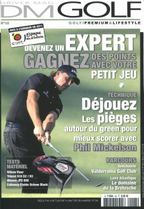 Billard Toulet-publications-Driver mag golf-couv