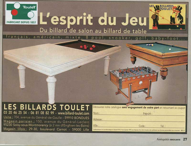 Billard-Toulet-revues-Antiquites-brocantes-fevrier-2008