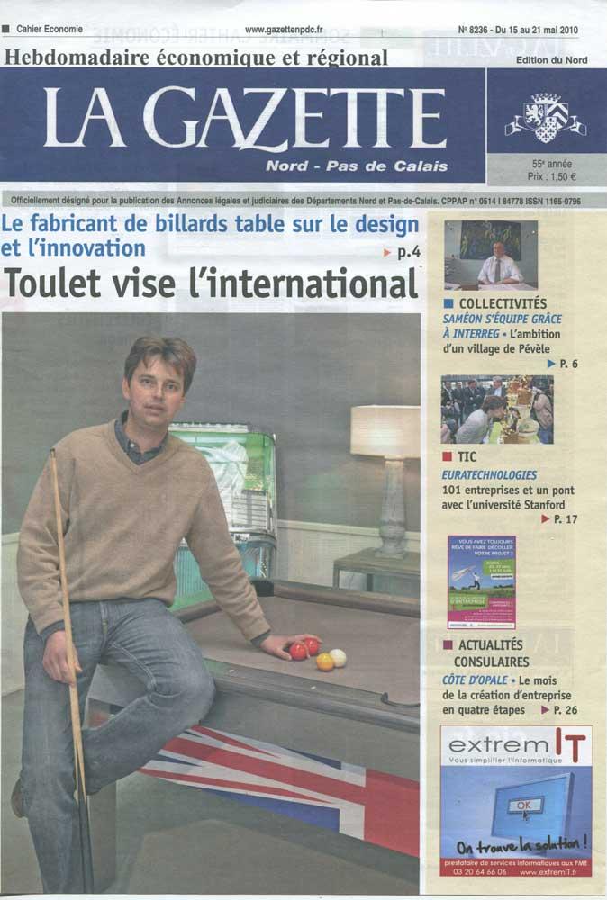 Billard-Toulet-revues-La-Gazette-couv