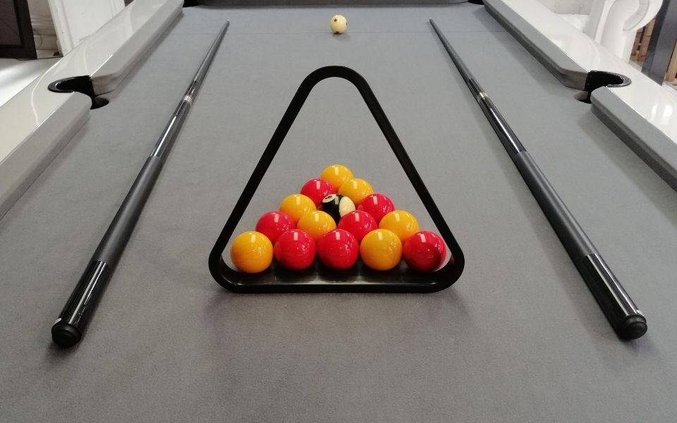 Jeu de billard Blackball ou billard anglais