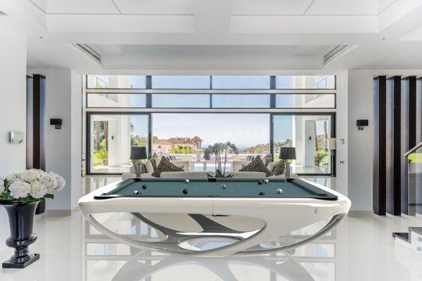 Billard - design - luxe - design - Whitelight