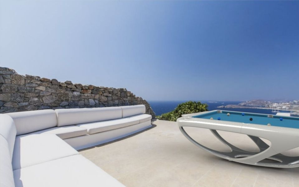 Billard de luxe - Outdoor - Whitelight - Billards Toulet