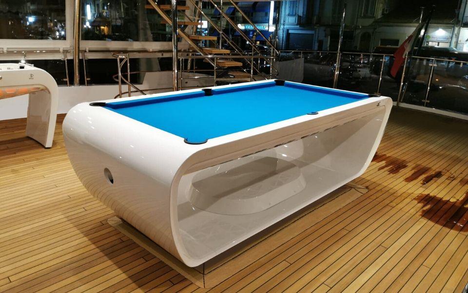 Billard sur bateau Yacht - Luxe - Billards Toulet