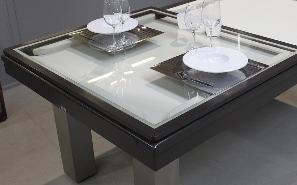 Billard table avec plateau verre standard billards toulet