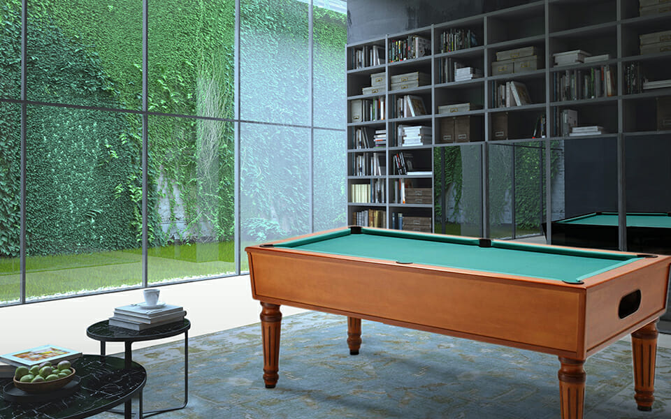 table billard ambiance - petit billard Toulet