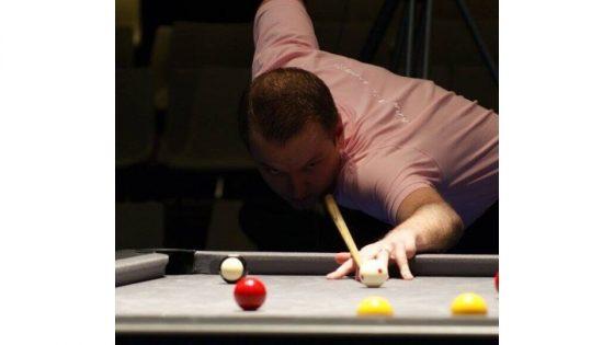 Joueur de snooker et de 8 Pool - Johan Lorek