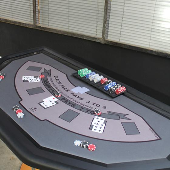 LA GAMME - table casino-version BlackJack