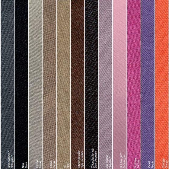Nuancier tapis de billard américain - Billards Toulet