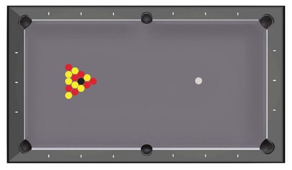 Regle billard 8 pool blackball - Billards Toulet