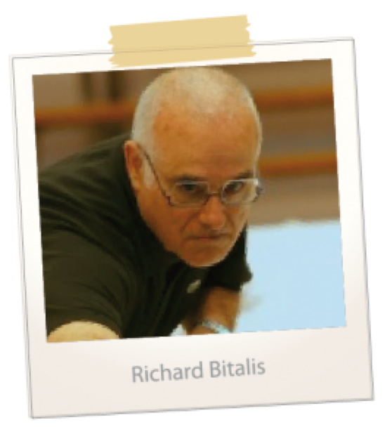 joueur de billard français - Richard Bitalis