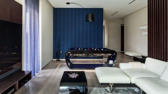 Salon Interiors Russe Billard haut de gamme Blacklight - Moscou