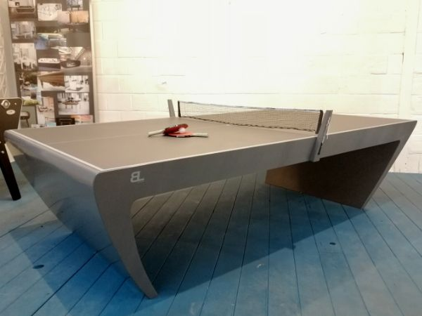 Table de ping pong grise - Blackshield - Chill out with Toulet