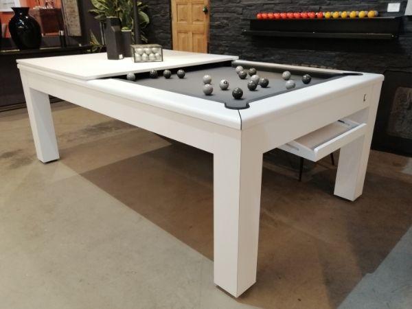 Acheter table de billard blanche - Cl Billards Toulet