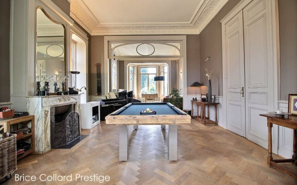 Billard design en bois Megeve - Billards Toulet
