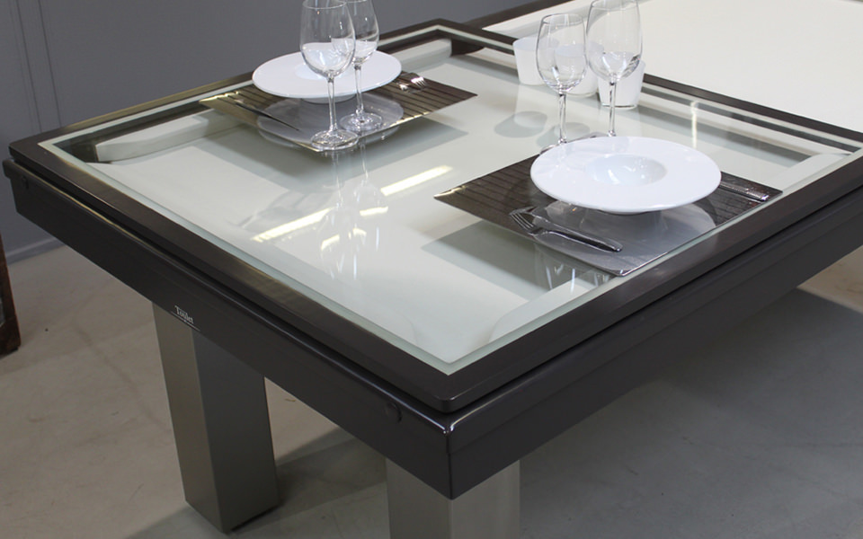 billard table-plateau-verre-standard