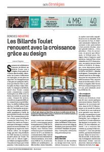 billards-toulet_article-journal-des-entreprises_janvier-2018