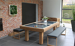 Teck - Table de billard - Indoor Outdoor
