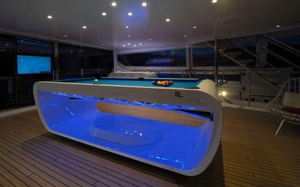 Yacht et billard haut de gamme - Billards Toulet